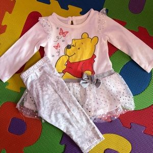 Other - Winnie the Pooh long sleeve and pant